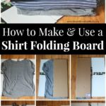 How to use a shirt folding board.