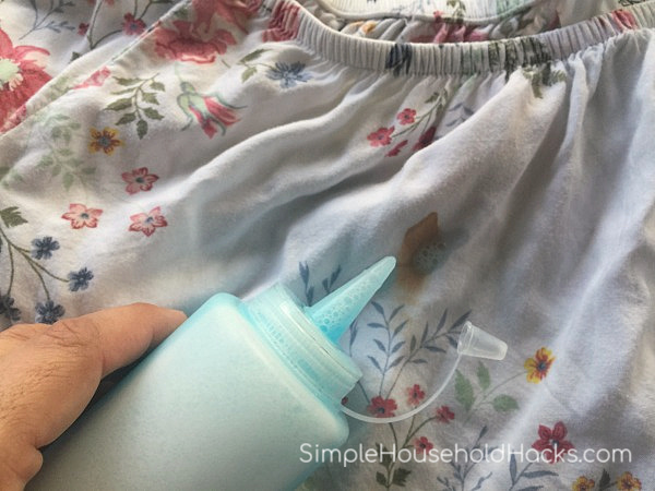 homemade gel stain remover
