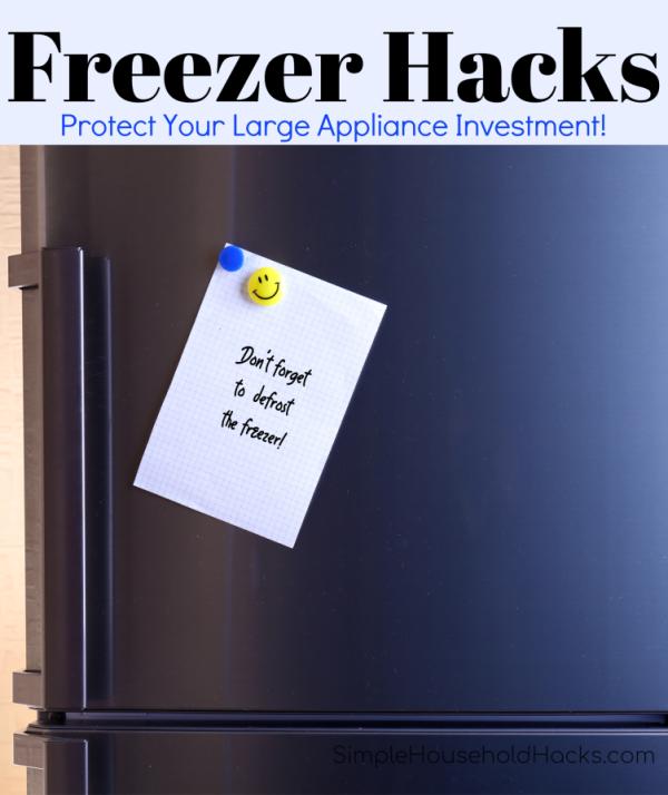freezer hacks