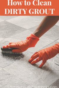 how to clean grout and remove stains from grout