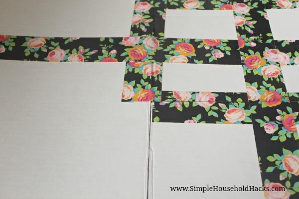 cardboard shirt folding board diy