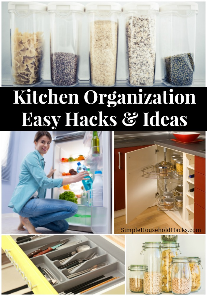 Easy Kitchen Organization Hacks and Ideas