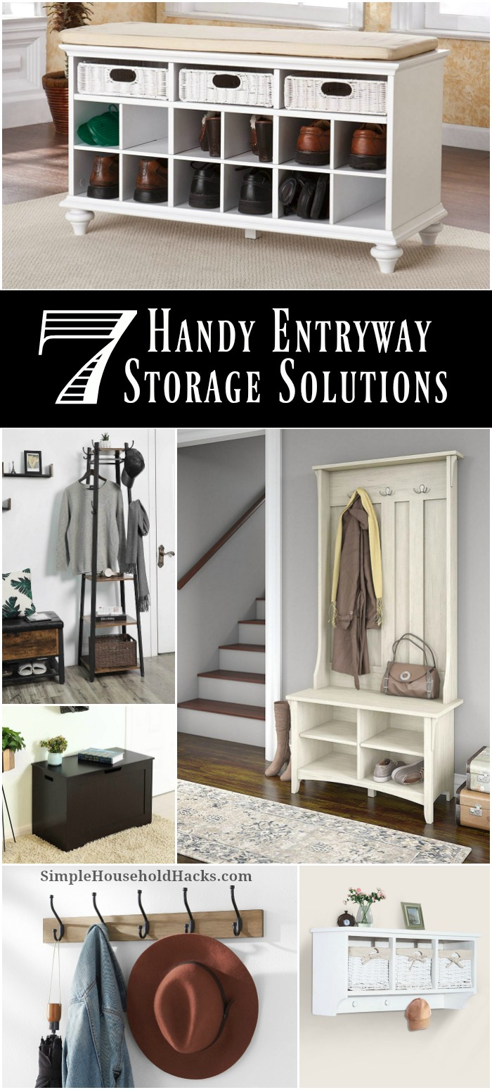 7 Handy Entryway Storage Solutions