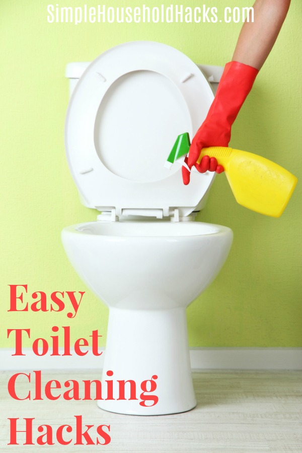 Easy toilet cleaning hacks