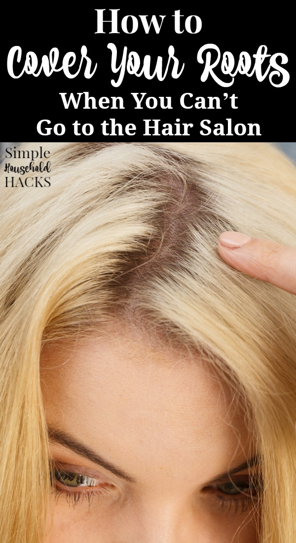Can't make it to the salon? Use these tips on how to touch up your roots when you can't get your hair done. Includes creative ways to cover your roots as well as permanent and semi-permanent solutions.