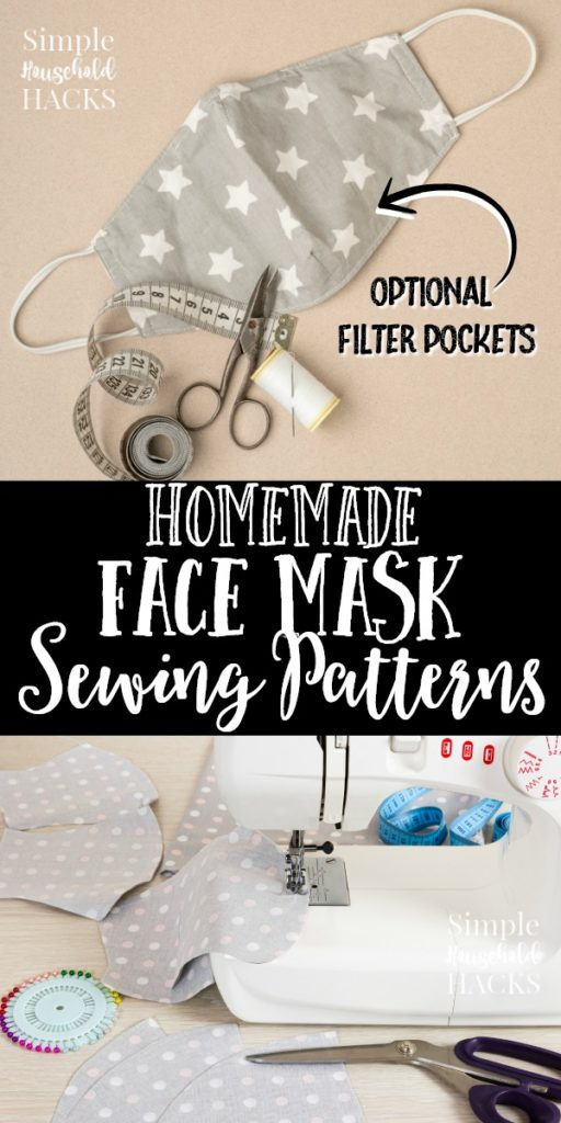 homemade face mask sewing patterns